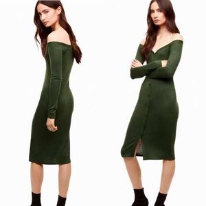 Aritzia WILFRED FREE Cayley Dress